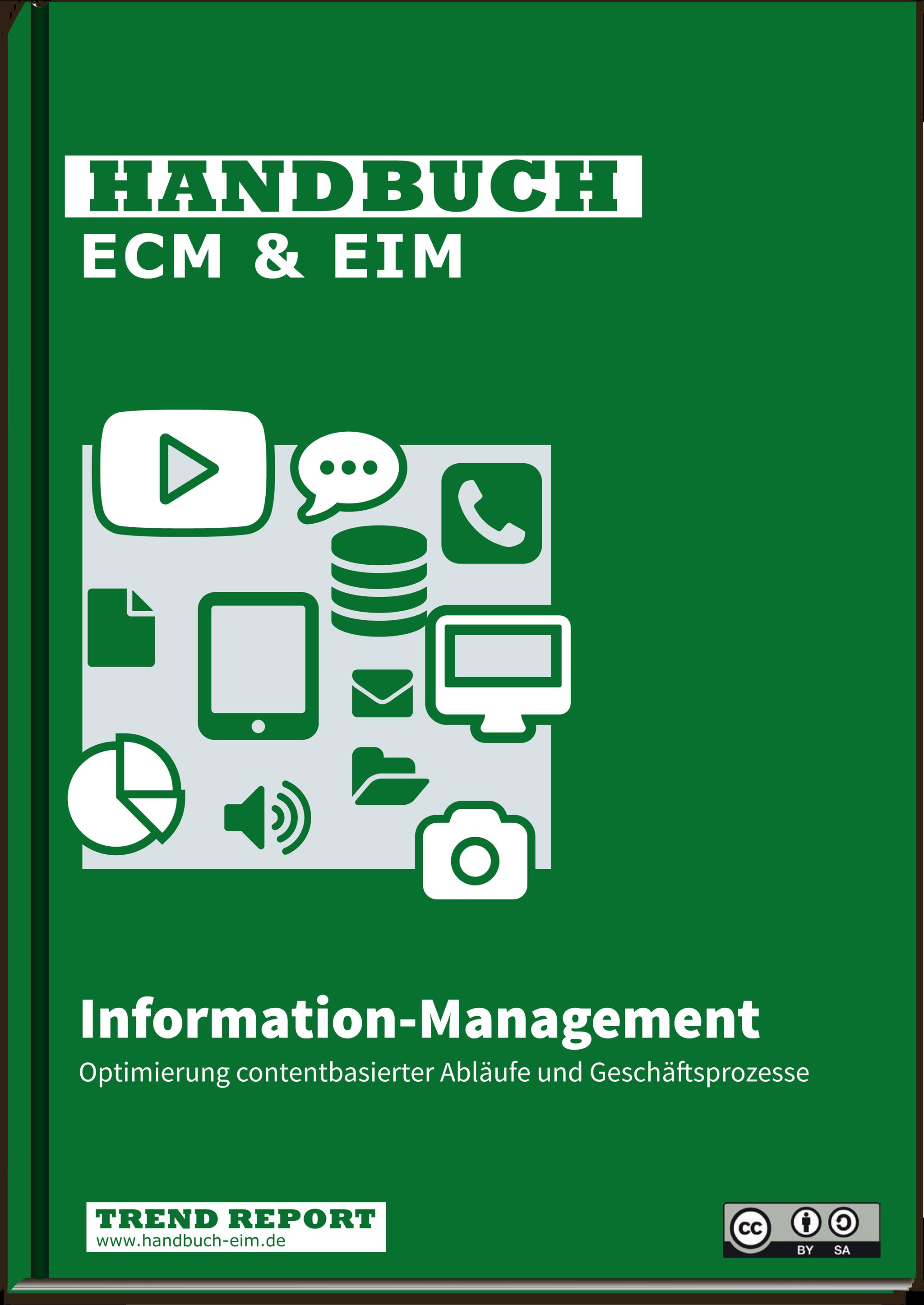 Cover Handbuch ECM & EIM